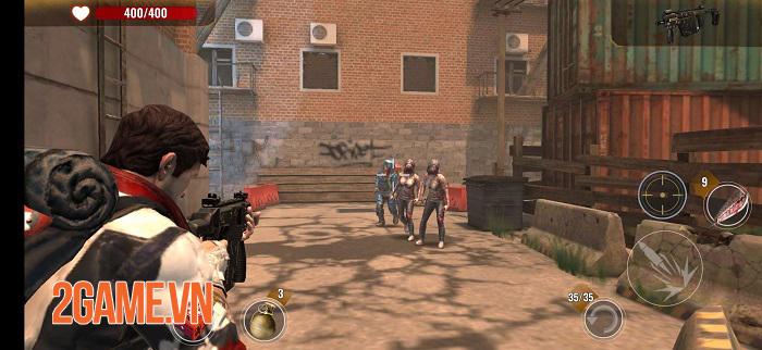 Zombie Survival VNG có lối chơi đơn giản và đồ họa chân thực 3