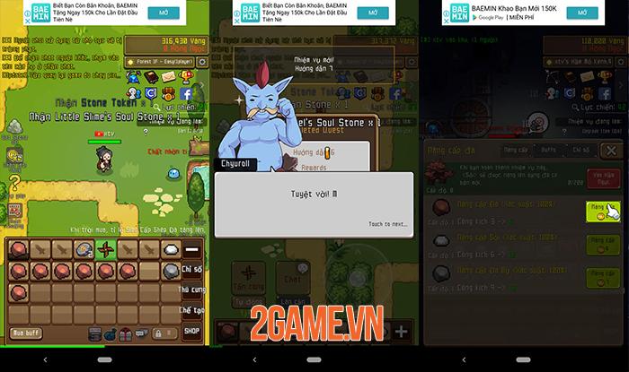 Grow Stone Online - Game phiêu lưu theo cơ chế idle có đồ họa 2D đầy màu sắc 1