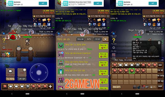 Grow Stone Online - Game phiêu lưu theo cơ chế idle có đồ họa 2D đầy màu sắc 2