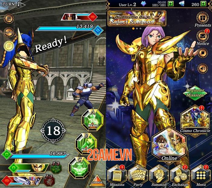 Saint Seiya: Shining Soldiers - Một thế giới Áo Giáp Vàng tinh túy trên mobile 1