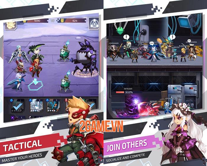 Nova Heroes - Game chiến thuật có thiết kế đơn giản nhưng cốt truyện hấp dẫn 0