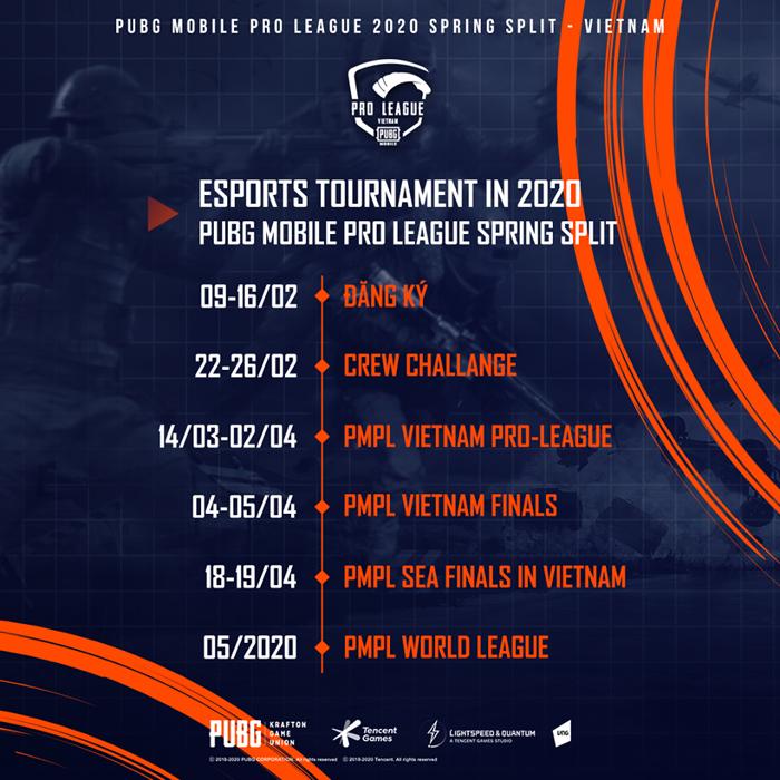 VNG họp báo ra mắt PUBG Mobile Pro League 2020 Spring Split 1