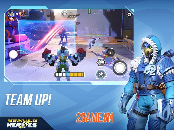 Respawnables Heroes - Game bắn súng đối kháng mang phong cách của Overwatch 4