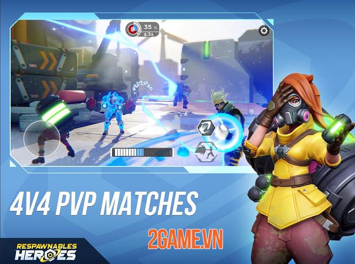 Respawnables Heroes - Game bắn súng đối kháng mang phong cách của Overwatch 1
