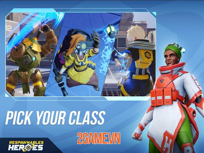 Respawnables Heroes - Game bắn súng đối kháng mang phong cách của Overwatch 2
