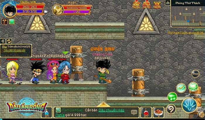 Điểm mặt một số hoạt động càng chơi càng cuốn ở Dấu Ấn Rồng Mobile 0