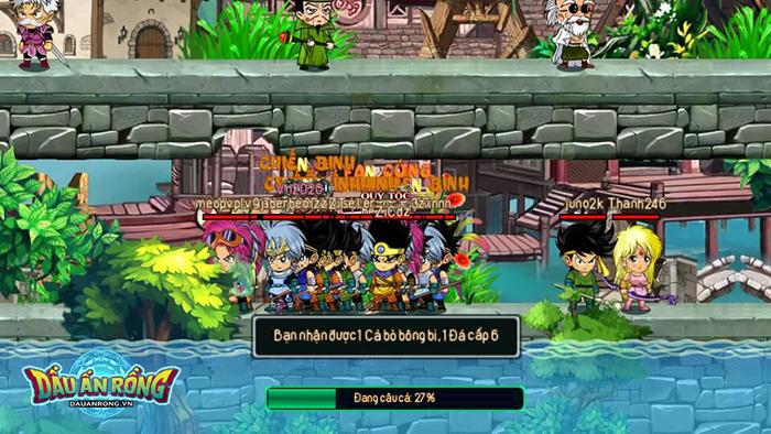 Điểm mặt một số hoạt động càng chơi càng cuốn ở Dấu Ấn Rồng Mobile 1