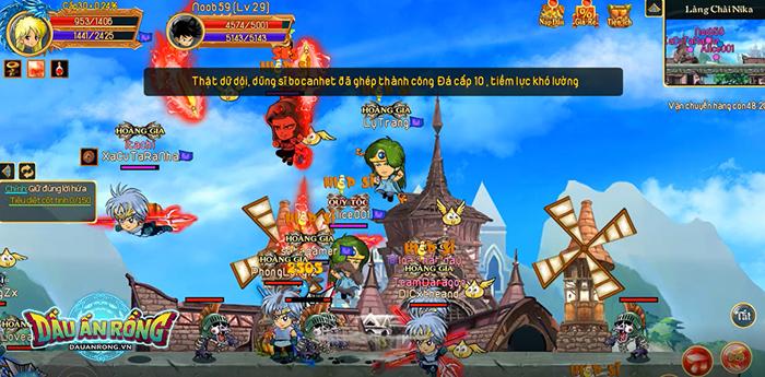 Điểm mặt một số hoạt động càng chơi càng cuốn ở Dấu Ấn Rồng Mobile 2