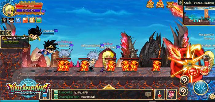 Điểm mặt một số hoạt động càng chơi càng cuốn ở Dấu Ấn Rồng Mobile 4