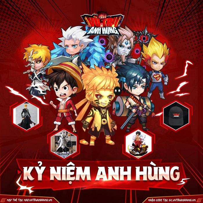 Game Vũ Trụ Anh Hùng tổ chức Big Event nhân dịp 6 tháng ra mắt 0