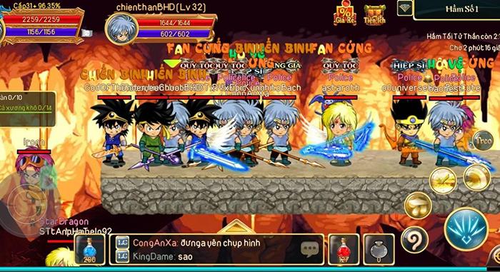 Dấu Ấn Rồng Mobile chật kín người chơi, đúng là game hay tự khắc đông! 2