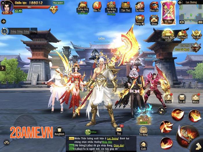 Chiến Thần 3D Funtap mang tham vọng thay đổi cái nhìn về dòng game MMORPG 1