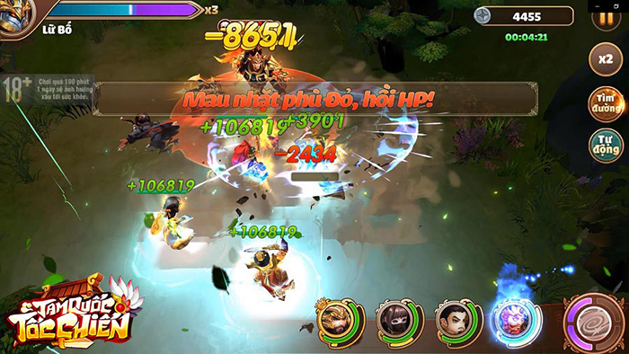 Tặng 333 giftcode game Tam Quốc Tốc Chiến Mobile 1