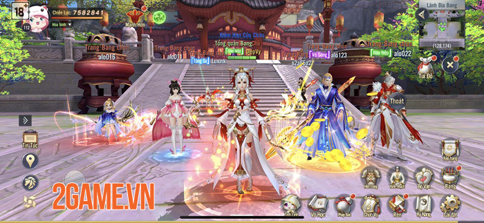 NPH Funtap đã Việt hóa xong game Ngạo Kiếm 3D Mobile 3
