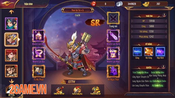 Game Thiên Long Tam Quốc trao cơ hội để game thủ làm chủ toàn bộ tướng 3Q 3