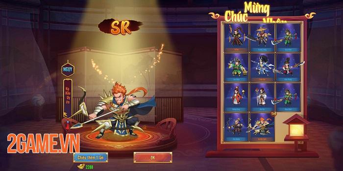 Game Thiên Long Tam Quốc trao cơ hội để game thủ làm chủ toàn bộ tướng 3Q 4