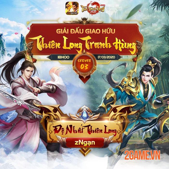 Thiên Long Tranh Hùng - Sân chơi PK cho game thủ Tân Thiên Long Mobile VNG 2