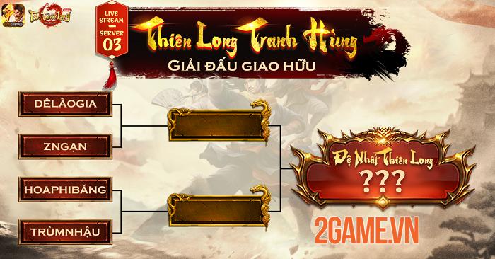 Thiên Long Tranh Hùng - Sân chơi PK cho game thủ Tân Thiên Long Mobile VNG 1