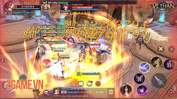 Vệ Thần Mobile khóa tim game thủ bởi cốt truyện hóa Thần trảm Yêu kiểu Tây 0