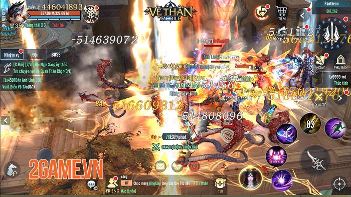 Vệ Thần Mobile khóa tim game thủ bởi cốt truyện hóa Thần trảm Yêu kiểu Tây 1