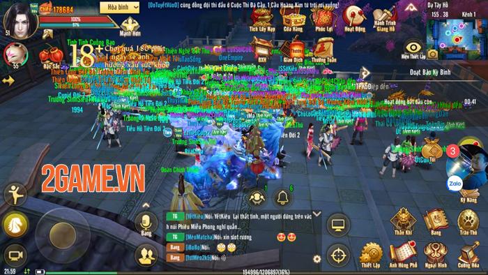 Chinh Chiến Thiên Hạ của Tân Thiên Long Mobile VNG giúp bạn tìm lại cảm giác Công Thành Chiến rực lửa 0