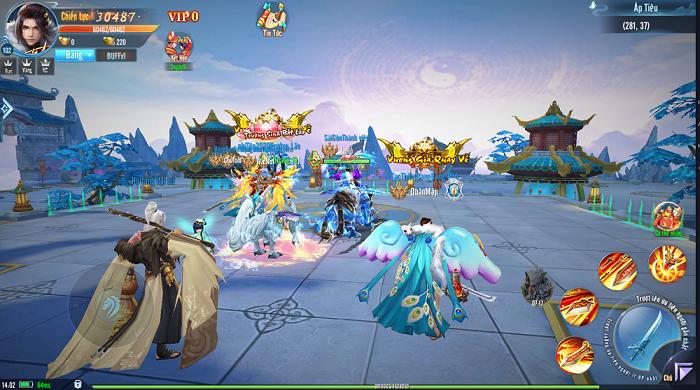 Game Âm Dương Kiếm Funtap ra mắt ấn tượng trên nhiều phương diện 3
