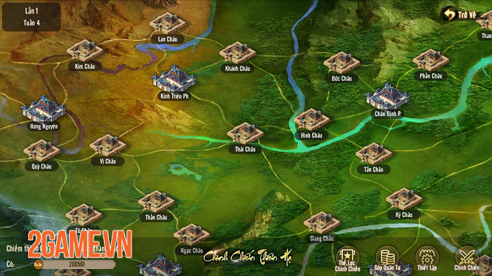 Chinh Chiến Thiên Hạ của Tân Thiên Long Mobile VNG giúp bạn tìm lại cảm giác Công Thành Chiến rực lửa 3
