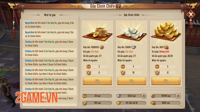 Chinh Chiến Thiên Hạ của Tân Thiên Long Mobile VNG giúp bạn tìm lại cảm giác Công Thành Chiến rực lửa 2