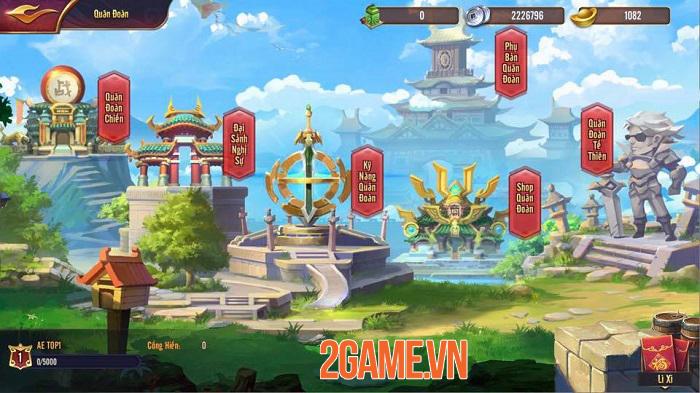 Bang hội trong Thiên Long Tam Quốc Mobile muôn hình vạn dạng không kém game MMORPG 0