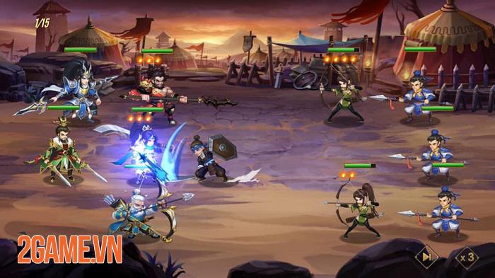 Bang hội trong Thiên Long Tam Quốc Mobile muôn hình vạn dạng không kém game MMORPG 3