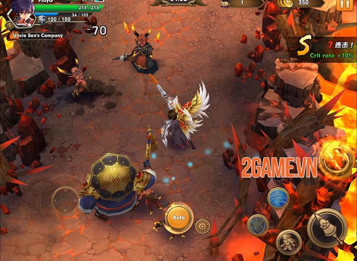 Wind Knight - Game hành động đồ họa 3D sống động và hiệu ứng hoa mỹ 1