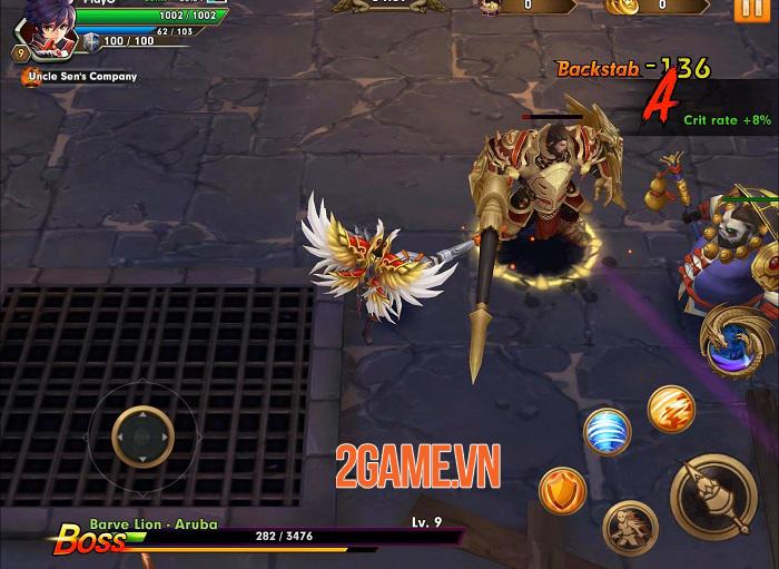 Wind Knight - Game hành động đồ họa 3D sống động và hiệu ứng hoa mỹ 3