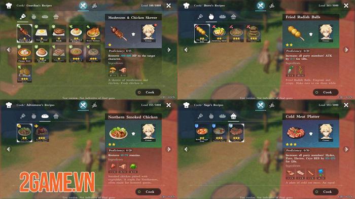 Hóa ra trong Genshin Impact việc nấu ăn lại quan trọng như thế! 3