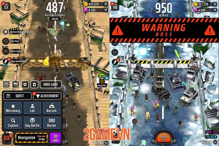 Zombie Defense King - Thưởng thức trận chiến sinh tử chống lại zombie vô tận 1