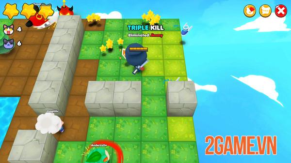 Bombergrounds - Game đặt bom phong cách Battle Royale có đồ họa đáng yêu 1