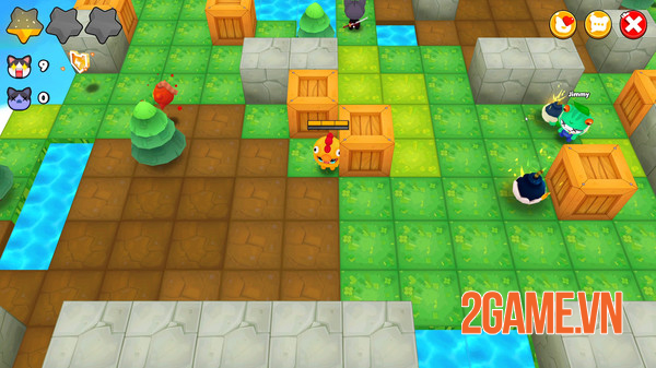 Bombergrounds - Game đặt bom phong cách Battle Royale có đồ họa đáng yêu 3