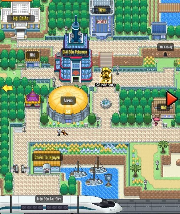 Poke Adventure H5: Hành trình chinh phục thế giới Pokemon bắt đầu! 1