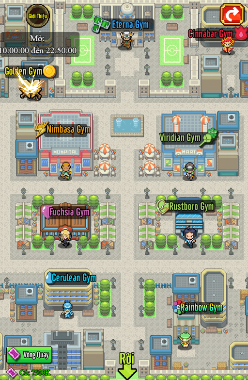 Poke Adventure H5: Hành trình chinh phục thế giới Pokemon bắt đầu! 2