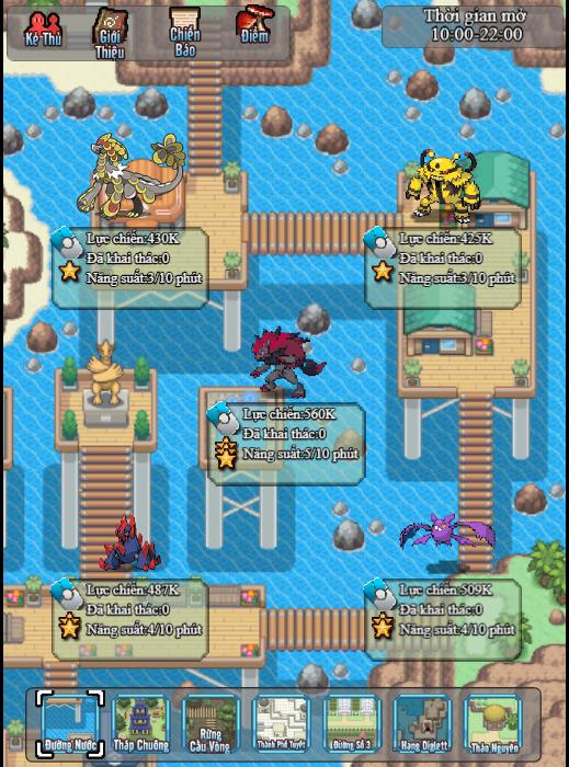 Poke Adventure H5: Hành trình chinh phục thế giới Pokemon bắt đầu! 3