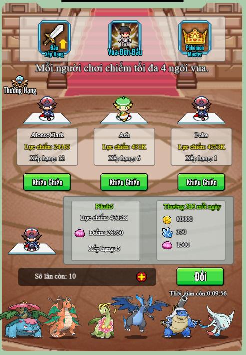 Poke Adventure H5: Hành trình chinh phục thế giới Pokemon bắt đầu! 4