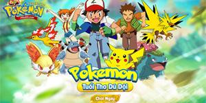 Poke Adventure H5: Hành trình chinh phục thế giới Pokemon bắt đầu!