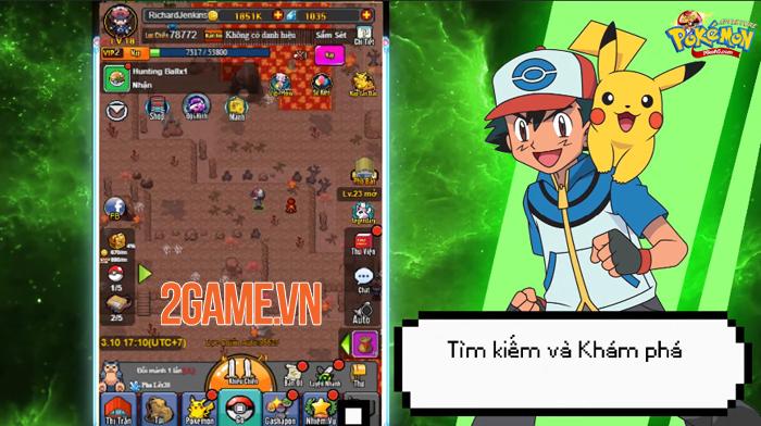 Game đấu pokemon Poke Adventure H5 ấn định thời gian ra mắt 1