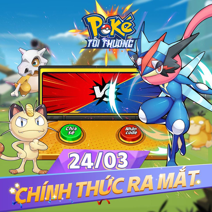 Tặng giftcode 500k game Poke Tối Thượng 0