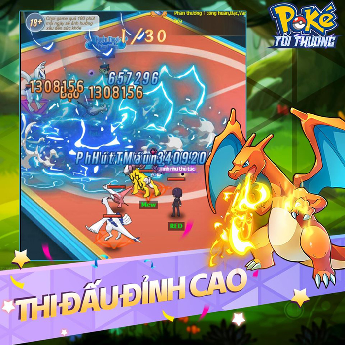 Tặng giftcode 500k game Poke Tối Thượng 1