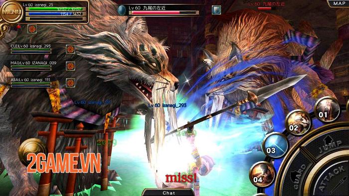 IZANAGI Online - MMORPG chuẩn cày cuốc của Nhật có ngôn ngữ tiếng Việt 3