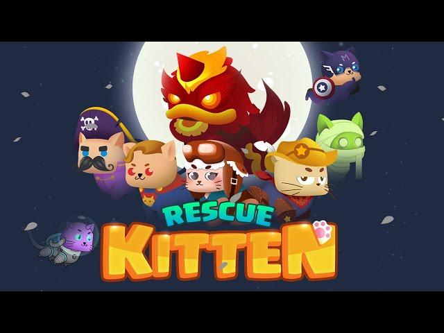Rescue Kitten: Rope Puzzle - Game giải đố thú vị của một team dev Việt 0