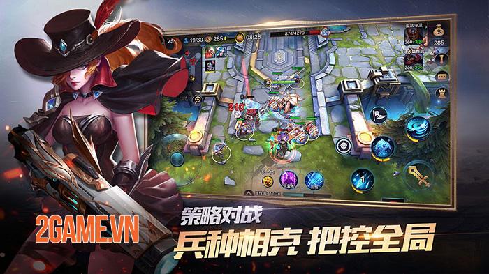 Fury and Valor Mobile - Game RTS kết hợp MOBA sắp ra mắt toàn cầu 1