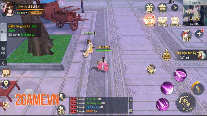 Đập hộp hàng hot Ngạo Kiếm 3D Mobile sắp được Funtap ra mắt tại Việt Nam 1