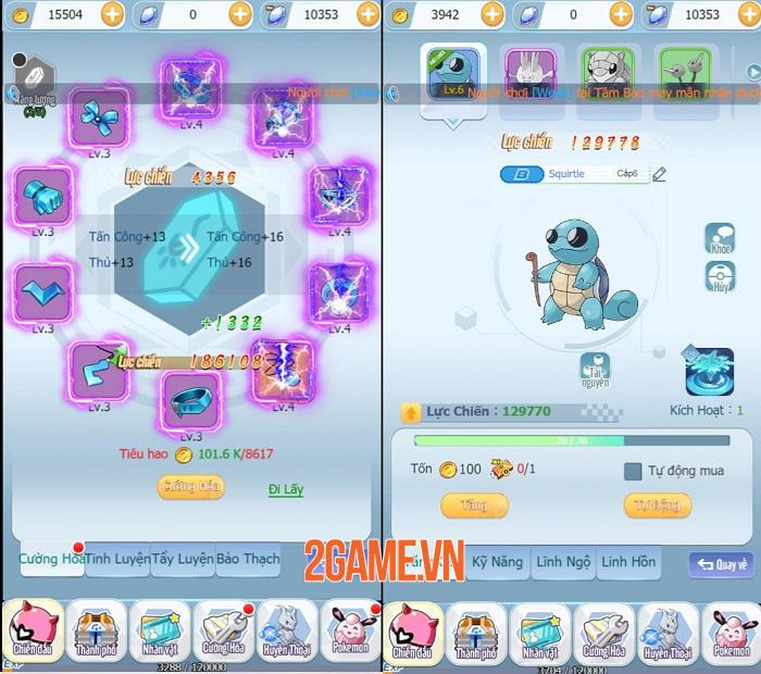 Vào Poke Tối Thượng ngay để cùng giải cứu hàng trăm Pokemon cute vô đối! 1