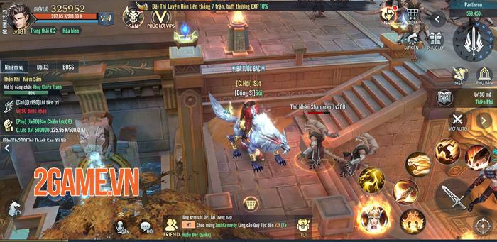 Vệ Thần Mobile tạo nét riêng cho dòng MMORPG 3D ở Việt Nam 6